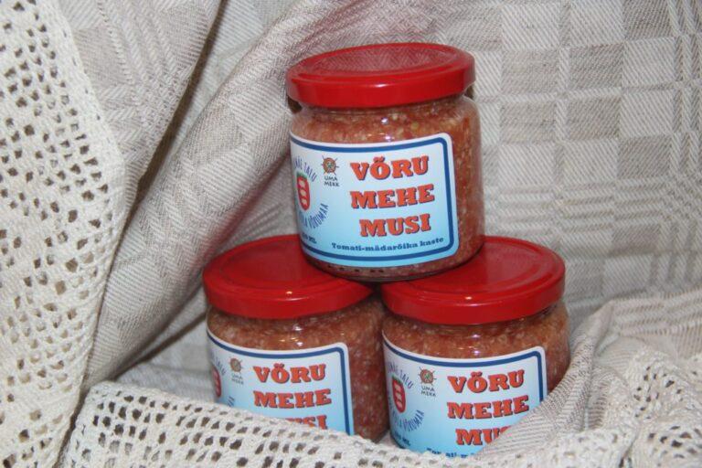 Võru mehe musi - Tomati-mädarõika kaste